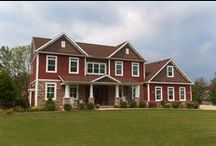 Johnstown Two-Story / Located just outside Pittsburgh in Johnstown, PA, this two-story received the 2014 Jerry Rouleau Award for Excellence in Home Design, from the National Association of Home Builders, in the 3,001 to 4,000 sq. ft. category.