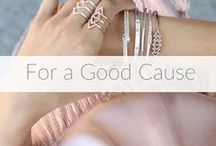 For A Good Cause / Look good while doing good! Join us in supporting #BreastCancerAwareness and shop for a cause! All net proceeds from eligible customer purchases of the Breast Cancer Awareness Boutique from 9/20/16 to 10/31/16 will be donated to @bebrightpink, an organization focused on prevention and early detection of breast and ovarian #cancer in young women.