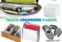Org Junkie Favorites / by Laura (Organizing Junkie)