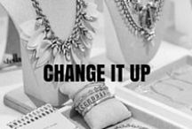 Change it up! / Our pieces can be worn multiple ways! Make a hit by changing it up in more ways than one!  / by Stella & Dot