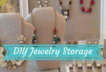 Stella & Dot | DIY Jewelry Storage / by Stella & Dot