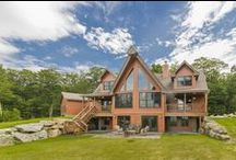 Killington Cabin / Located in Killington, Vermont, this home won top honors in the 2,001 to 3,000 square foot category of the 2015 Jerry Rouleau Awards for Excellence, presented by the National Association of Home Builders.