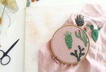 Sewing + Needlepoint