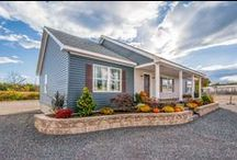 The Smithtowne II / Stunning ranch home with 1,550 sq. ft., 3 bedrooms and 2 bathrooms.