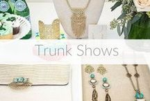 Trunk Shows / Get Styled. Host a Trunk Show, online or at home, and earn free accessories!