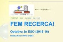Fem Recerca / Imatges per al bloc de google sites de l'optativa  FEM RECERCA de 2n d'ESO