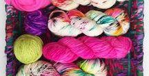 Keep calm and work with yarn