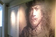 """""""Rembrandt. Incidere la luce"""" / Exhibition, Scuderie del Castello Visconteo, Pavia e Scuderie del Castello di Miramare, Trieste,"""