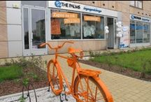 Window Display_Bike ideas / How to use a #bike on #window #display