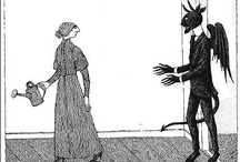 The World of Edward Gorey / by Lisa Golden