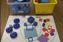 Preschool Math Sort and Pattern / by Jolynne Rogers