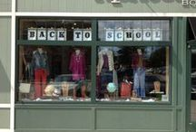Window Displays_back to school ideas / Bunch of ideas about #backtoschool #window #display which can be an inspiration for a small company
