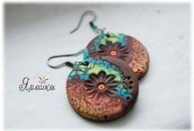 Polymer Clay / Textile Art Inspiration