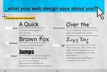 Website / Informative pins about website design.