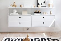 nursery / Colours, textures and storage ideas for our little one. / by Madeline Murphy