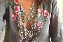Boho Fashion / Boho fashion, hippie style, threads for free spirits.
