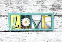 This & That - A Mix of Newly Listed, Recently Sold, & Renewed Items - Letters of Love Designs / Things move quickly in my Etsy shop.  This board highlights things that are most recently listed in my Etsy shop.  A mix of all subjects, styles, & sections.
