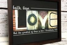Framed Prints - Alphabet Photography by Letters of Love Designs / I photograph things that look like letters and make them into custom wood signs and framed art.