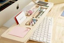 Home workspace / How to be productive while working from home. / by SuperFastBusiness