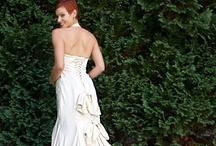 ecochic wedding dresses / From repurposing your mother's wedding dress to buying one made from peace silk, It is possible to have an amazing and yet earthfriendly wedding dress!! / by Melissa @EmeraldEventsIntl.com