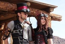 Eco-chic Steampunk Love / When the future Mr. And Mrs. love them some steampunk ;o) Steampunk is a growing trend that combines a science fiction fantasy of technology with a Victorian era viewpoint. The mechanical wonders created are powered by steam and not electricity.  Steampunks are drawn to the fashion of yesteryear while embracing the future's technology. / by Emerald Events & Weddings