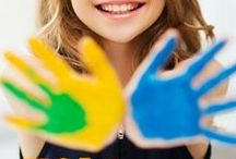 ACTIVITIES FOR KIDS / A go-to resource for activities for children of all ages. Sensory Activities, pretend play ideas, Outdoor Activities, Play Recipes, Fine Motor Skill Activities, Games for Kids, Play Dough Activities, Indoor Activities for kids. / by Brittany @ Love, Play, Learn