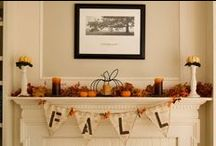 Thanksgiving/Fall / by Lisa Rasmuson Rigby