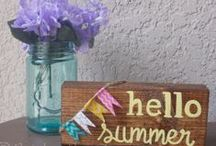 Summer decor / by Lisa Rasmuson Rigby