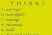 Our Fav Motivational Quotes / Love to live positive! Share quotes to help our mindsets stay focused and positive