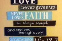Quote wall / by Lisa Rasmuson Rigby