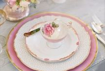 Party Ideas -  Adult & Kids High Tea / Inspiration & ideas for a mommy & me tea party, bridal shower or high tea party. Includes ideas for tea party food & drink. In addition creative or DIY uses for tea cups!