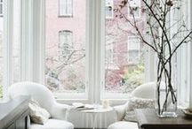 Interior Inspiration - Home decor / Ideas and Inspiration for redesigning rooms and fixing up the interior of a home.