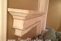 Mantel Shelf Decor / by Lisa Rasmuson Rigby