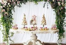Party Ideas - Flowers & Creative Alternatives / Ideas, inspiration and trends for decor and flowers at weddings, events and parties.  Includes inspirations and trends for alternatives to flowers like balloons and paper decorations.