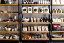 Inspiration - Retail & Hospitality Spaces / Ideas & inspiration from the design, layout and styling of retail and hospitality spaces.  Also includes DIY ways of decorating and styling retail and hospitality spaces.