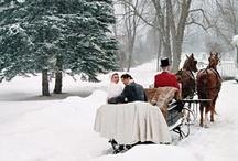 Eco-chic Winter Wonderland Love