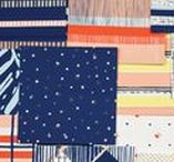 Inspiration - Textile & Pattern / Ideas & inspiration from textile and pattern.  Paper, fabric and art worlk
