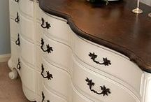 Refinished furniture / by Lisa Rasmuson Rigby