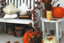 Autumn/Fall Decorating Ideas / Fall Decorating Ideas for home and outdoors