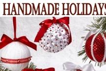 Christmas Ornaments -- Handmade / Handmade Christmas Ornaments  See my other boards: Christmas Ideas Christmas Ornaments Christmas Culinary Delights
