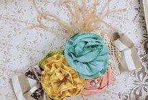 Crafts : Hair Acc.& Flowers / by Melodie Tulsie