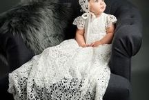 Christening Gowns / Beautiful Lace Christening Gowns for Girls - All of our Christening Gowns are designed in house and made with the best materials.