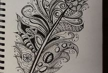 COLORING PAGES!!! / by Melinda Pauls