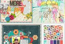 Sweet Shoppe Idea Books / Your favorite pins turned into inspiring scrap challenges!