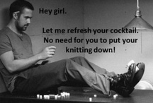 Knitting and Drinking