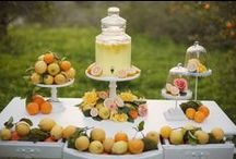 Eco-chic Lemon Lime Love / by Emerald Events & Weddings