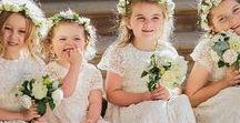 Flower Girls / Ideas for the flower girl! Take a peek at Baby Beau & Belle's Flower Girl Dress designs!