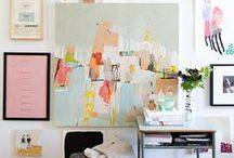 Inspiration - Mood Boards / Ideas & inspiration for physical work room & client design mood boards.