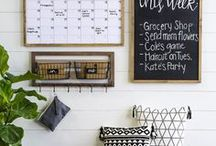 HOME DECOR AND ORGANIZATION / Home decor ideas and organization ideas for the home.