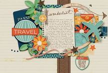 Sweet On: Travel / Travel Scrapbook Layouts, Products and other fun scrapping resources!